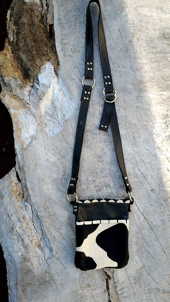 Cross Body Leather Purse