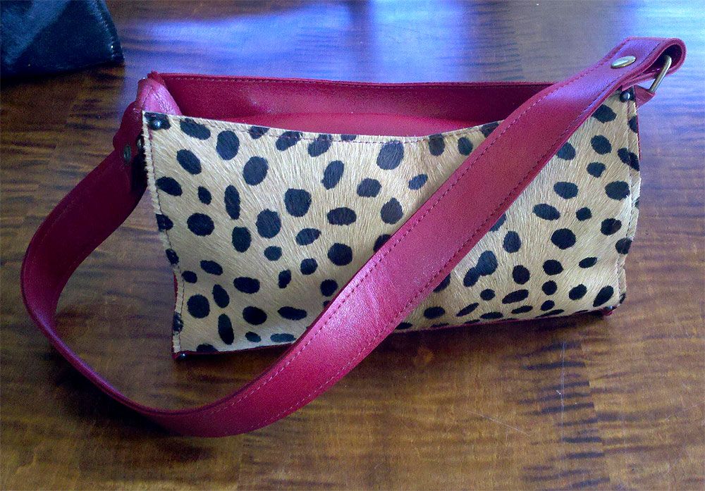 Custom Leather Pocketbook