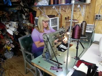 Sewing Handbags...