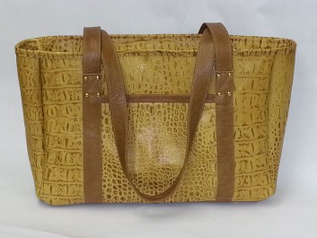 Embossed-leather-in-crocodile-design