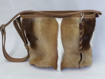 Exotic Spring Buck Fur and Buffalo Hide